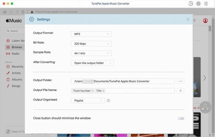 TunePat Apple Music Converter 1.3.0 Mac 中文破解版 苹果音乐下载转换器