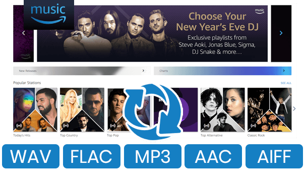 TunePat Amazon Music Converter & Spotify Music Downloader