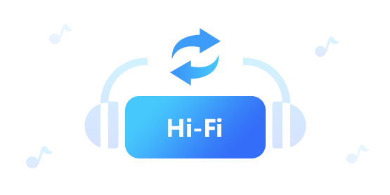 convert music with hifi audio quality